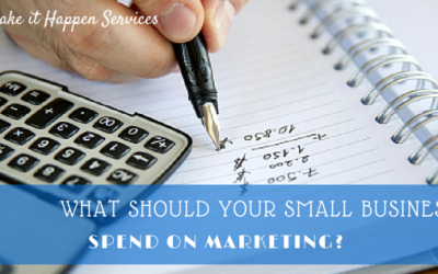 What Should Your Small Business Spend on Marketing?