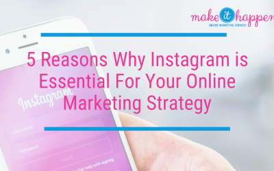 5 Reasons Why Instagram is Essential For Your Online Marketing Strategy