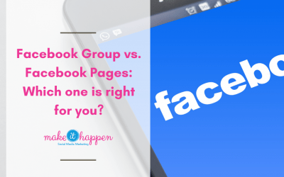 Facebook groups vs. Business Pages – Which one is right for you?