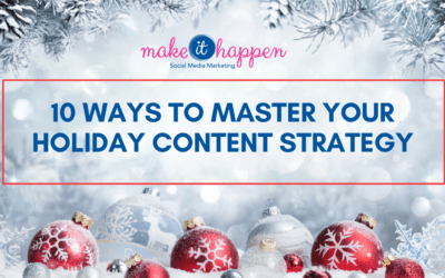 10 Ways to Master your Holiday Content Strategy